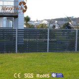 Sicherheitszaun des im Freienwetterbeständigkeit-haltbarer Aluminium-WPC für Verkauf
