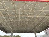 Крыша стальной структуры бензоколонки