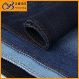 インディゴカラー綿ポリエステルスパンデックスのジーンズのデニム