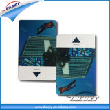 Cartão de microplaqueta em branco do cartão mestre EMV do PVC