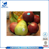 Glatte Vinylentfernbare Frucht-verpackenaufkleber