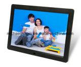 retratos video Multi-Media da música 12.1inch que anunciam os frames da foto de Digitas (HB-DPF1203)