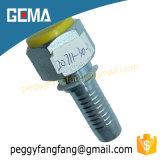 Hembra métrica estándar de 20711 GB instalación de tuberías del asiento del cono de 74 grados