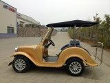 Автомобиль Sightseeiing тележки гольфа топлива 6 мест электрический