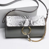 뱀 피부 패턴 Emg5184를 가진 새로운 Handbags Young Fashion Women 도착 디자이너 숙녀 어깨에 매는 가방