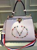 형식 작풍 손 부대 디자이너 핸드백은 여자 Sh154를 위한 어깨에 매는 가방을 장식용 목을 박다