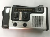 Emergency Solar Hand Crank Dynamo Am / FM / Noaa Weather Rádio, lanterna, leitura