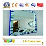 specchio di alluminio vestentesi dell'argento dello specchio dello specchio di sicurezza dello specchio della stanza da bagno dello specchio della mobilia dello specchio di 1.8mm~8mm