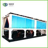 R407c Luft abgekühlter Schrauben-Wasser-Kühler-Wärmepumpe H-Typ
