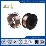 Constructureの鋼鉄溶接(Aws Er70s-6)のためのガスによって保護される/MIGの溶接ワイヤ