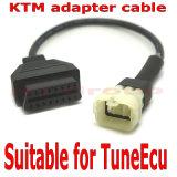 4 de Kabel Ktm Cavo van de speld voor Tuneecu die ECU Ktm 6pin herprogrammeren van de Motor Ktm aan OBD 16 de Kenmerkende Kabel van de Speld