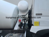 10m3 HOWO 6X4 구체 믹서 유조 트럭