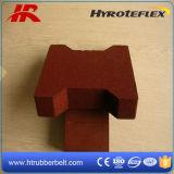 Figura di gomma delle mattonelle di pavimentazione di ginnastica di Crossfit/osso di cane per il giardino/mattonelle di gomma di Palyground