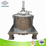 完全なステンレス鋼の食品規格の平らなタイプ植物油フィルター遠心分離機