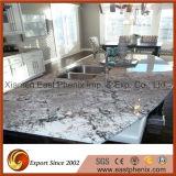 Partie supérieure du comptoir Polished gris-clair normale de granit pour des dessus de cuisine