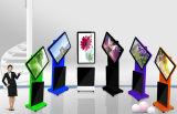 42 soporte de la señalización del LCD Digitaces del soporte del suelo de la pulgada rotación de 360 grados