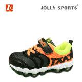 Zapatos ocasionales de las muchachas de los muchachos de los cabritos de los deportes calientes de las ventas de la manera con la arandela elástica