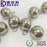 Bola de acero inoxidable AISI304 316 esfera para cadena con lazo