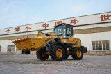 새로운 조건 기계 큰 공사 장비 2 톤 바퀴 로더 Zl30