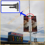 Metal Street Light Pole Advertising Flag System (BT-BS-065)