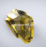 Lâmpada do capacete de segurança do mineiro de carvão do diodo emissor de luz de Kl6lm