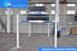 Gru idraulica di parcheggio dell'automobile/automobile del quattro alberino