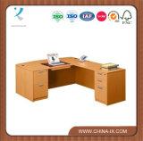 나무로 되는 현대 활 정면 L 책상