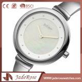 防水ステンレス鋼の手首の水晶ブランドの腕時計