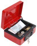 Metallbeweglicher Bargeld-Kasten mit entfernbarem Plastiktellersegment