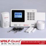 Nuevo 2015 GSM alarma sistema de alarma de color del producto Audio