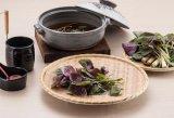 Melamin hölzern wie Vierecks-Teller/Sushi-Platte/großer Teller (NK13811-09)