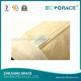 мешок пылевого фильтра войлока 550GSM Nomex Aramid для промышленной фильтрации