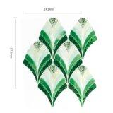 Tegels Van het Achtergrond mozaïek van het Kristal en van het Glas van de Kleur van de mengeling de Spaanse van de Bloem