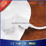 Электрическая нагревательная подстилка для ног 100% полиэфира с предохранением от Overheat для тепла кровати