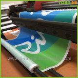 Drapeaux faits sur commande de maille de PVC de vinyle d'impression de frontière de sécurité extérieure (Tj-04)