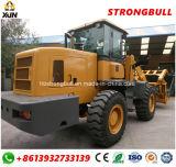 Marca de fábrica de Xiaojiangniu con la cabina articulada aprobada Ce Zl936 de Rops&Fops del cargador de la rueda 3ton