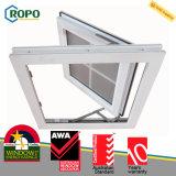 Het anti UV Plastic Ontwerp van de Grill van het Openslaand raam van het Effect van de Orkaan UPVC