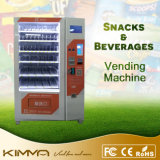 Рекламировать торговый автомат экрана LCD для колы и молока