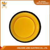 Commutateur micro Pbs-010 de bouton poussoir jaune électrique de 3A 8A 16A 27.4mm