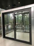 De Schuifdeur van het Glas van Framen van het Aluminium van Australië op Met een laag bedekt Poeder eindigt