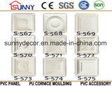Tuile de médaillon de plafond d'unité centrale/médaillons de plafond/moulage décoratifs corniche de polyuréthane