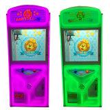 튼튼한 장난감 기중기 기계 동전에 의하여 운영하는 게임