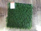 Erba artificiale con la fibra di S-Figura per gioco del calcio