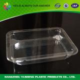 Het wijd Gebruikte Vierkante Beschikbare Plastic Dienblad van de Verpakking van de Groente en van het Fruit