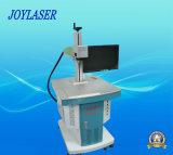 Máquina de fibra óptica de la marca del metal del laser 30W de Jpt de la etiqueta de plástico