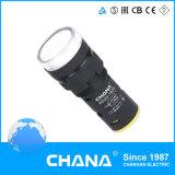 22mm de Diameter Beschermde LEIDENE Lamp van de Indicator met Ce en Goedkeuring RoHS