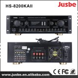 Jusbe HS8200kaii 220With8ohm 330With4ohmのマルチメディアの世帯のマイクロフォンインターフェイスが付いているハイファイReverbの効果のアンプ