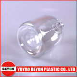 500ml普及した円形の安いプラスチック液体石鹸のびん