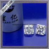 공상 모양 백색 Moissanite 8*8mm 광점 커트 팔각형 Moissanite 다이아몬드