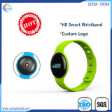 Wristband astuto di H8 Bluetooth del video impermeabile di frequenza cardiaca